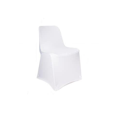housse de chaise blanche housse de chaise blanche en lycra très extensible