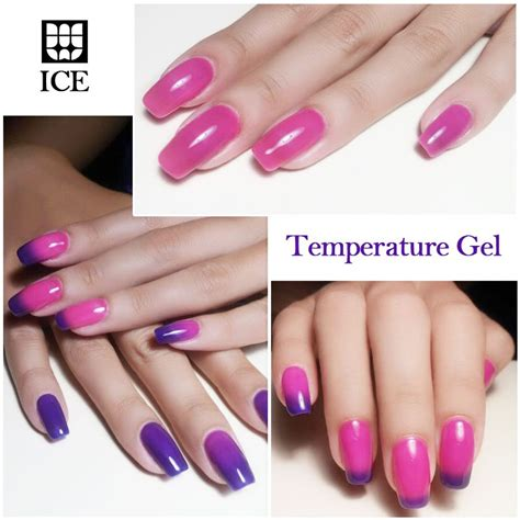 temperature color changing gel nail temperature changing gel nail 270 colors soak