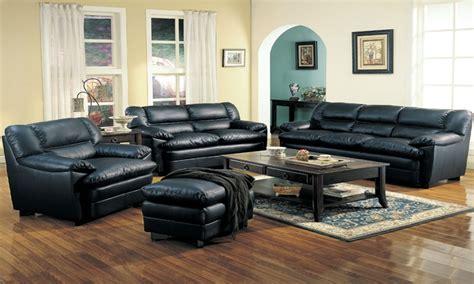 Used Leather Living Room Set