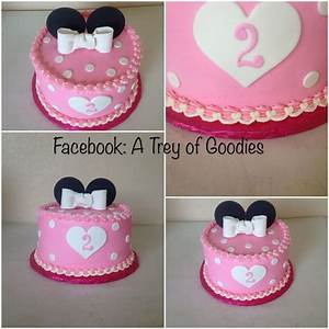 Pink Minnie Mouse - CakeCentral com
