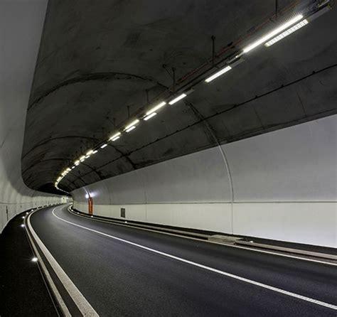 led lights in switzerland led lighting for switzerland s schallberg tunnel renovation