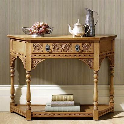 Console Table Charm Furniture Canted Wood Tables