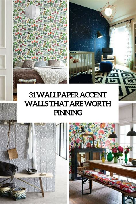 31130 dining room accent wall magnificent 31 wallpaper accent walls that are worth pinning digsdigs