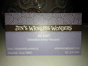 Scentsy business card ideas scentsy ideas pinterest for Scentsy business card ideas