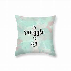 typography pillow snuggle pillow quote cute pillows for kids With cute cheap decorative pillows
