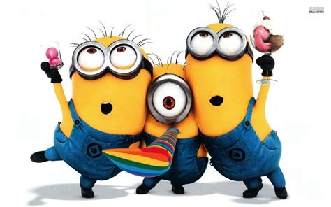 Minions Background Minion Wallpapers Wallpaper Cave