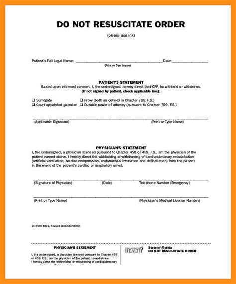 illinois do not resuscitate form 2017 do not resuscitate forms oursearchworld