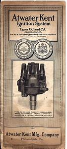 Atwater Kent Type Cc And Ca Ignition System