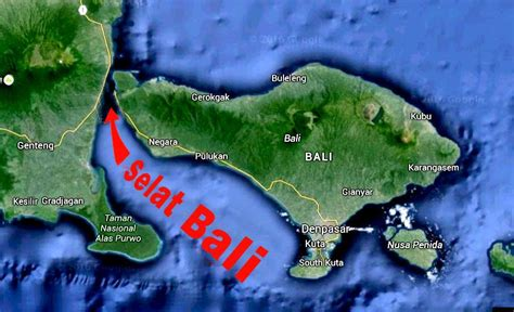 sejarah putusnya pulau jawa  bali