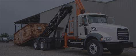 waste management roll  dumpsters roll  trucks