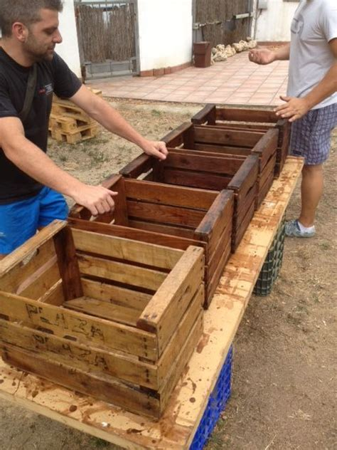 Ideas Using Pallets by Make Storage Crates Using Pallets No Sense In Spending