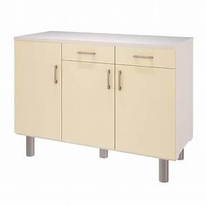 Meuble Bas 3 Portes : meuble bas de cuisine 3 portes id es de d coration int rieure french decor ~ Teatrodelosmanantiales.com Idées de Décoration