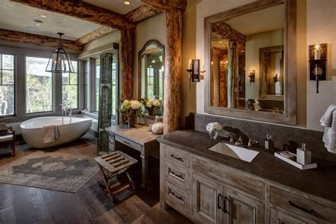 Pics Of Rustic Bathrooms by 35 Best Rustic Bathroom Vanity Ideas And Designs For 2019
