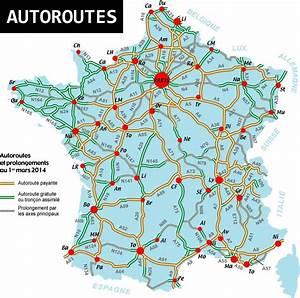 Reseau Autoroute France : carte de france des autoroutes arts et voyages ~ Medecine-chirurgie-esthetiques.com Avis de Voitures