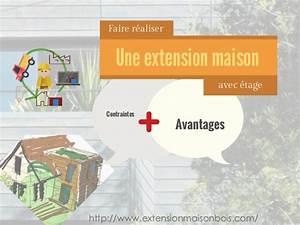 faire realiser une extension de maison avec etage With faire une extension de maison
