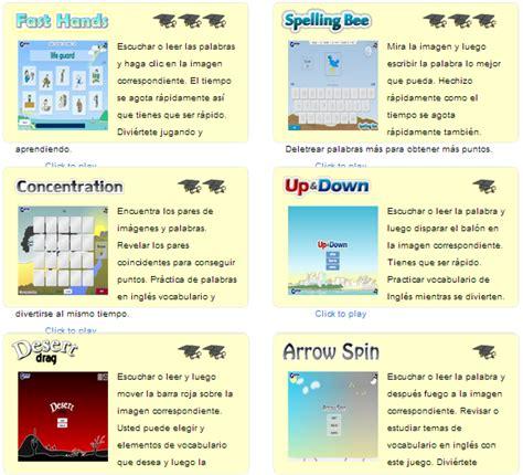 Savesave estandares ingles secundaria word for later. Juegos para aprender Inglés ~ EduTIC