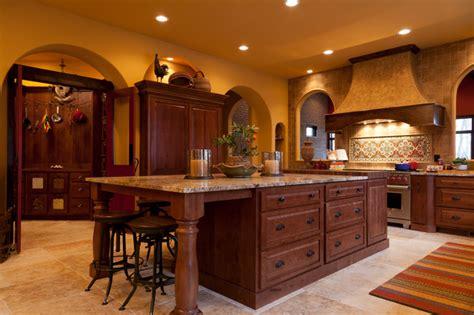 Adobe Kitchen  Rustic Beech  Mediterranean  Kitchen