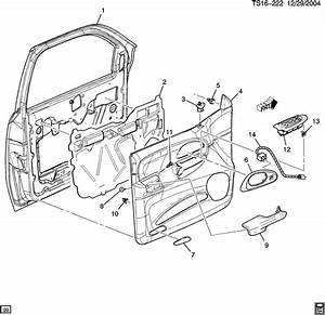2000 Chevy Blazer Door Diagram