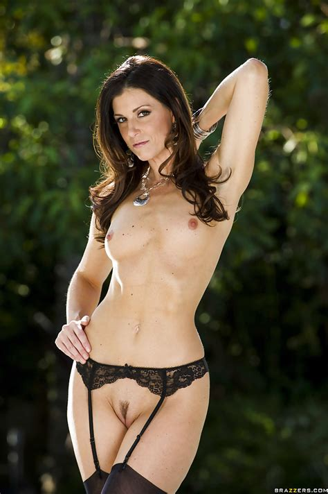 Sexy Milf India Summer Stripping Off Her Dress And
