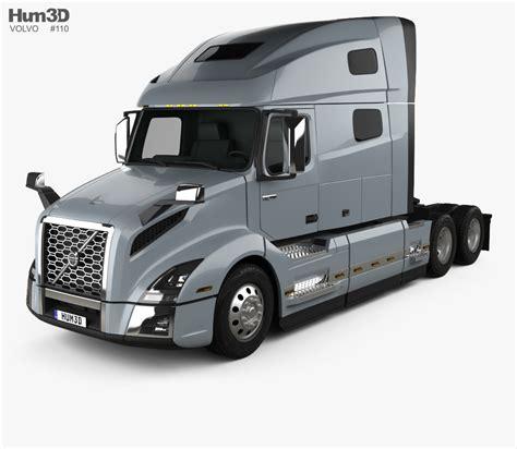 Volvo Vnl (760) Tractor Truck 2018 3d Model Hum3d