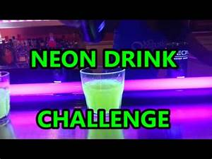 Neon Energy Drink Challenge