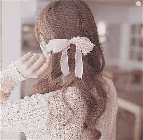 Brown Hair With Bow <a href=
