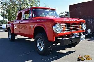 1966 Dodge W200 4x4 Power Wagon Crew Cab Utiline Stepside