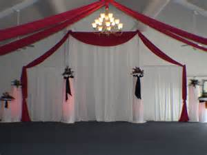 pipe and drape wedding pipe and drape let me wow u kenosha wi 888 819 9698