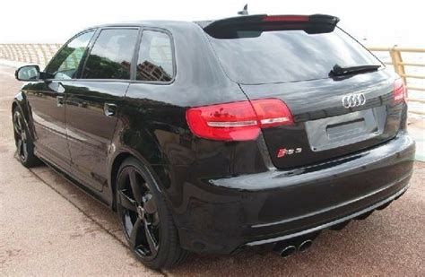 audi a3 8p sportback 5 doors 03 12 rear roof spoiler rs style new ebay