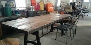 Table Basse Ronde Industrielle : table industrielle vacances arts guides voyages ~ Teatrodelosmanantiales.com Idées de Décoration