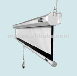hang projector screen  ceiling www