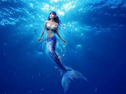 Mermaids Mermaid Found Perfect Alive Underwater Wallpapers