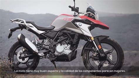 g 310 gs motosx1000 primer contacto bmw g 310 gs