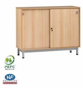 Meuble Bas Porte Coulissante : meuble armoire bas tous les fournisseurs armoire basse ~ Dailycaller-alerts.com Idées de Décoration