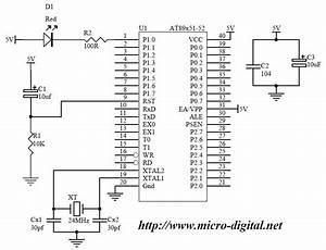 8051 Basic Led Flasher