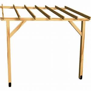 Fabriquer son carport bois for Abri de jardin bois pas cher leroy merlin 5 auvent terrasse appenti bois carport tradi