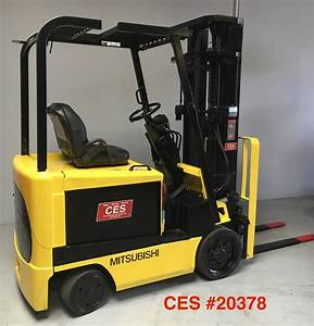 Ces  20378 Mitsubishi Electric Forklift