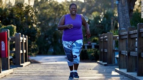 size runner leads    overweight athletes cnn