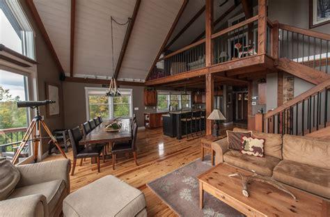 Moose Ridge Mountain Lodge - Yankee Barn Homes