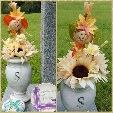 aug 2015 graveside decor for loved ones pinterest