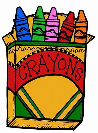 Clipart Crayon Crayons Clip Crayola Count Boxes