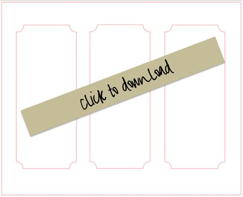 Box File Label Template Word by Diy Chalkboard Paper