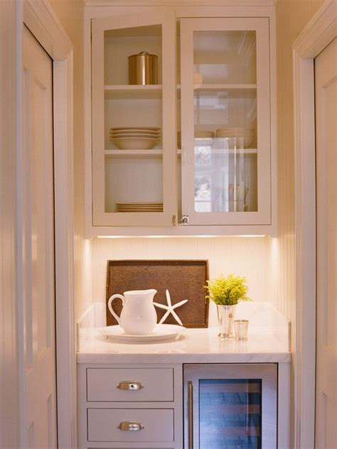 Decorating Above Kitchen Cabinet Space by Butlers Pantry Wine Cooler Google Search Home Kitchen