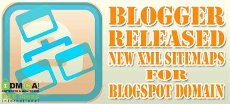 Blogger Released New Xml Sitemaps For Domain