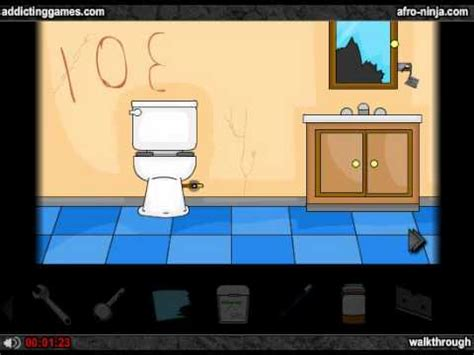 bathroom escape walkthrough noprops addicting escape the bathroom walkthrough