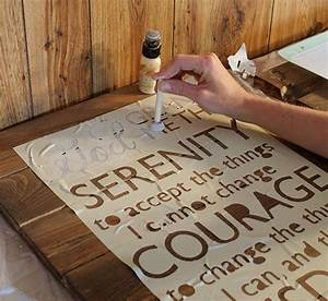 her cut making signs and stencils on pinterest With how do you stencil letters on wood