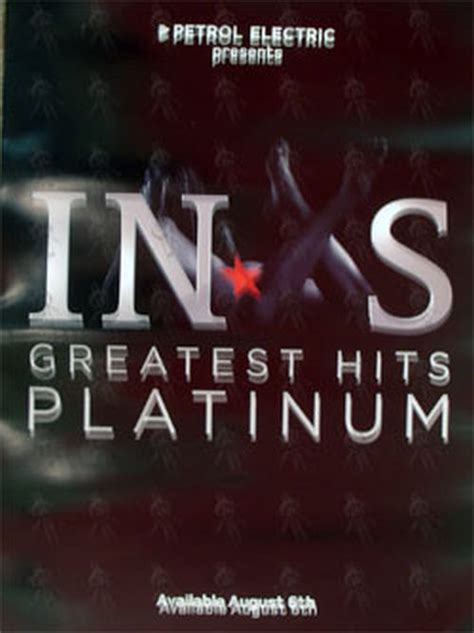 inxs greatest hits album cover inxs greatest hits platinum album poster posters