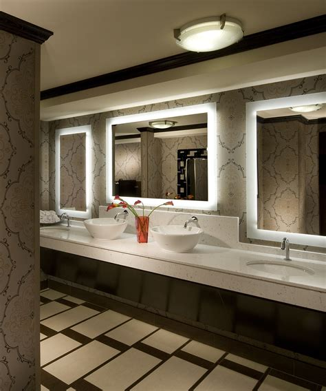 Electric Bathroom Mirrors by Silhouette Led Lighted Bathroom Mirror Electric Mirror 174