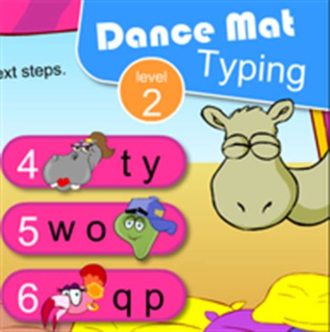 mat typing level 3rd grade technology class