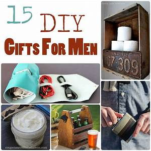 15 DIY Gifts for Men The Craftiest Couple